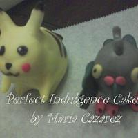 Pokémon Ball  by Maria Cazarez Cakes and Sugar Art