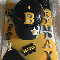 Boston Bruin birthday cake