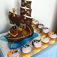 Pirate Ship by Cakes by Jo-Anne