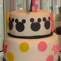 Minnie/Mickey Cake