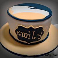 Georgia Southern University Eagle Inspired Birthday Cake by Patty Cakes Bakes