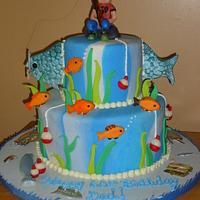 Fishing Cake 60th Birthday!