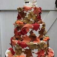 Mice wedding cake for Fairytale Forest