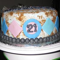 21st Birthday Cake by FiasCreations
