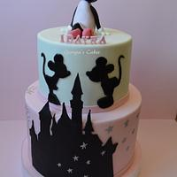 Minie Mouse cake birthday