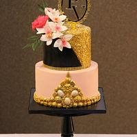 Sequins and Jewel Cake !