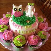 Birthday Bunny & Owl