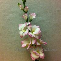Sugarpaste/Gumpaste Gladiolus