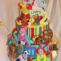 Libby Lane's Circus Cake