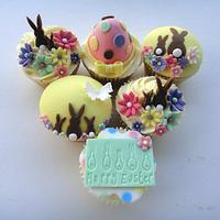 Easter Bunny Cuppies by Truly Madly Sweetly Cupcakes