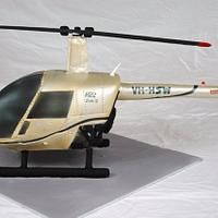 3D Sculpted Helicopter