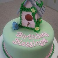 Birdhouse Birthday Blessings