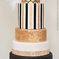 The Great Gatsby Wedding Cake
