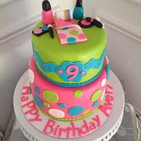 Spa Sleepover Birthday Cake!