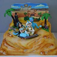 The story of Aladdin cake.