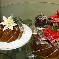 Trio Of Christmas Cakes