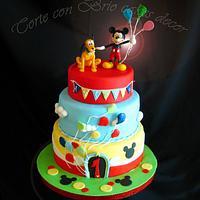 topolino 's cake