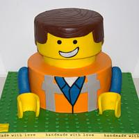"""Emmet"" LEGO movie"