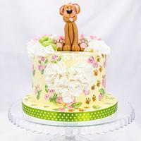 Bday doggy cake