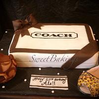 Cute Coach cake I did