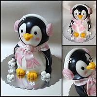 Pinguin girl