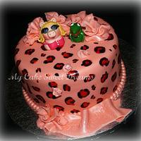 Miss Piggy cake