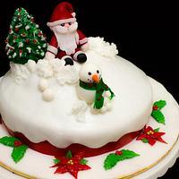 2012 Christmas cake for colleague
