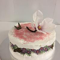 Fault line cake Magnolia