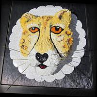 Cheetah cake by CuriAUSSIEty  Cakes