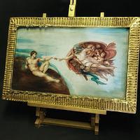 Michelangelo Sugarpaste Art
