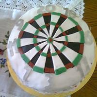 Darts Cake