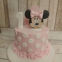 Minnie 1st birthday