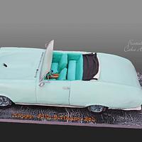 1967 Pontiac GTO Convertible Cake