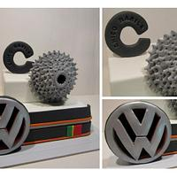 Car and Bike Lover Cake