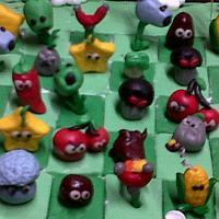 plants vs zombies cake by kylieskeyk