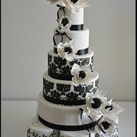 Tall 11pc Wedding cake
