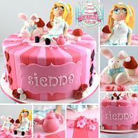 Alice in a pink Wonderland