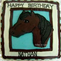 Horse cake- my first FBCT