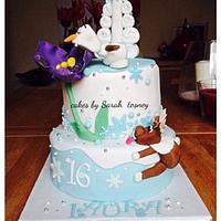 1st frozen cake