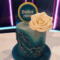 Cake for a TV Show