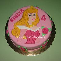 Sleeping Beauty Cake by Samantha Camedda
