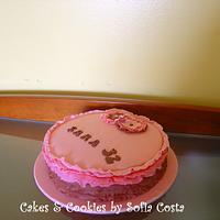 frilly cake by Sofia Costa (Cakes & Cookies by Sofia Costa)