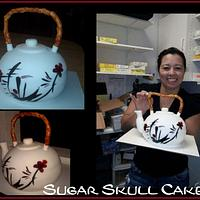 Japanese Teapot Cake