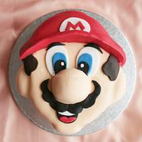 Super Mario Cake by Karen Dourado