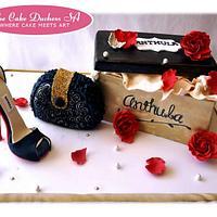 Personalised Shoe Cake