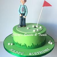 grumpy grandad golfer