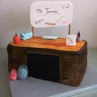 Birthday cake for a special teacher