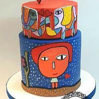 Milo Lockett cake