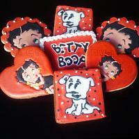 Betty Boop Birthday Cookies