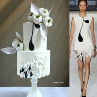 FASHION WEDDING CAKE
